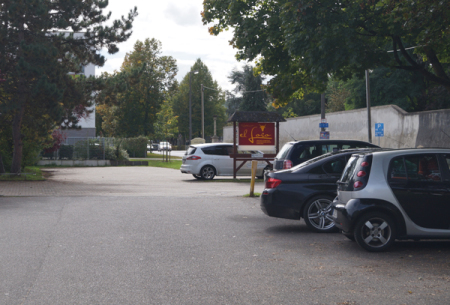 parken am restaurant, tennisplatzanlage